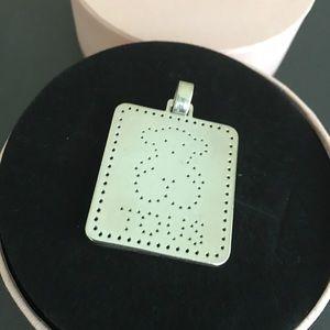 TOUS authentic silver pendant dots teddy 38Mm